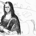 Herve Alexandre - Mona Lisa Unicorn