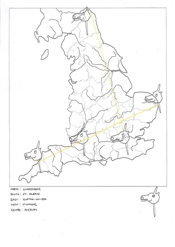 England's Unicorns Sketch | Unicorn Porn
