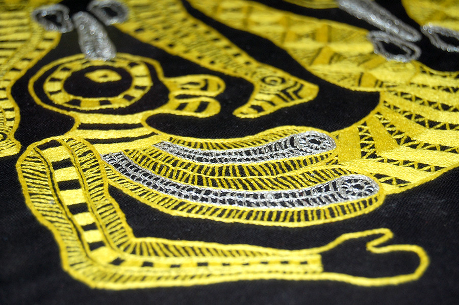 Synchronous Hermaphrodites (Yellow) #boyswhosew