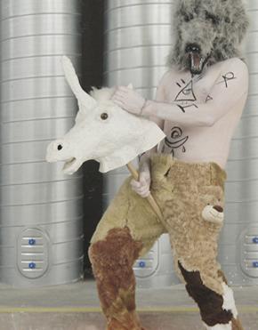 Wilder Mann Wild Man Costume Spike Dennis