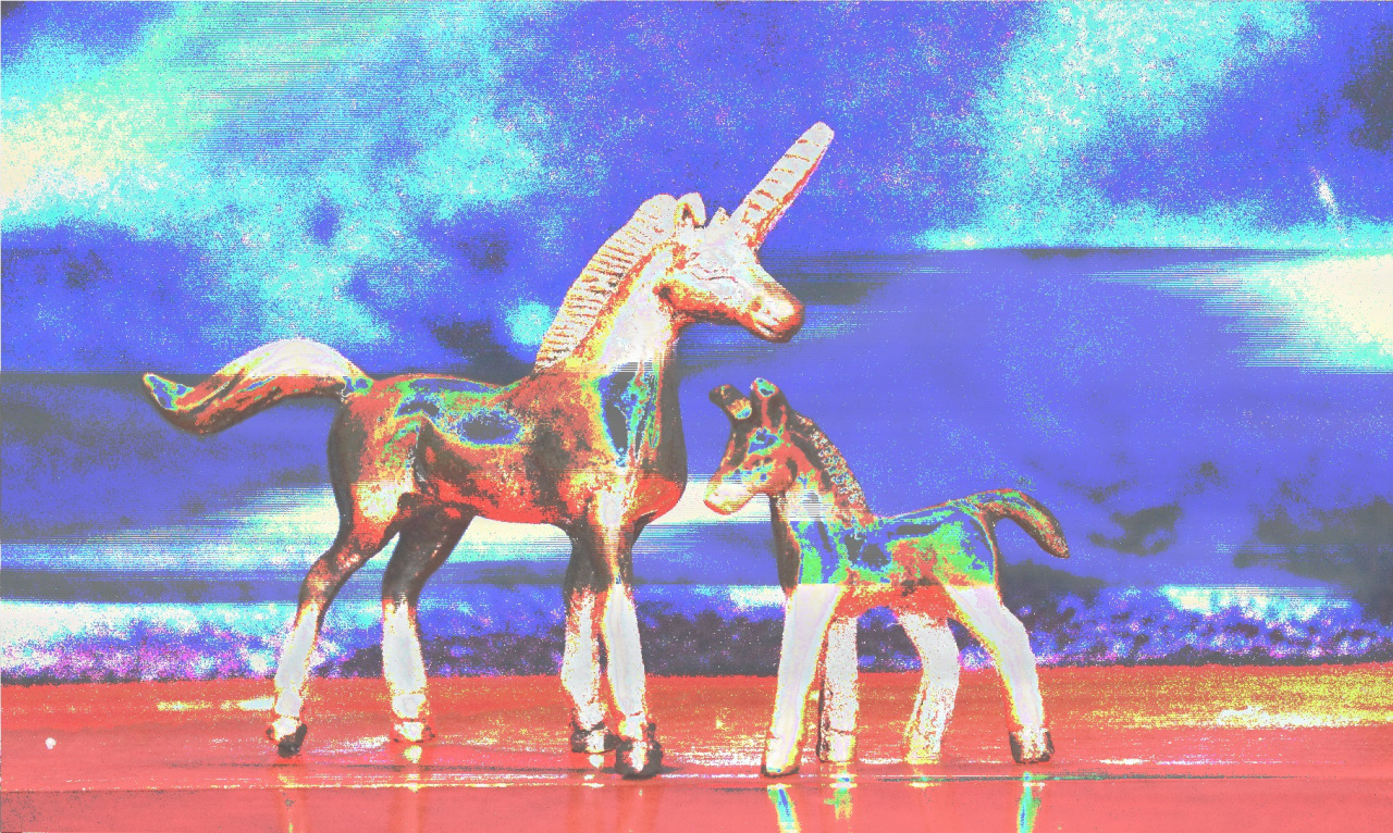 Databending Unicorns