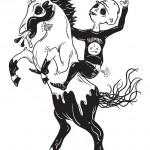 Lee Sleeps - Unicorn Rider