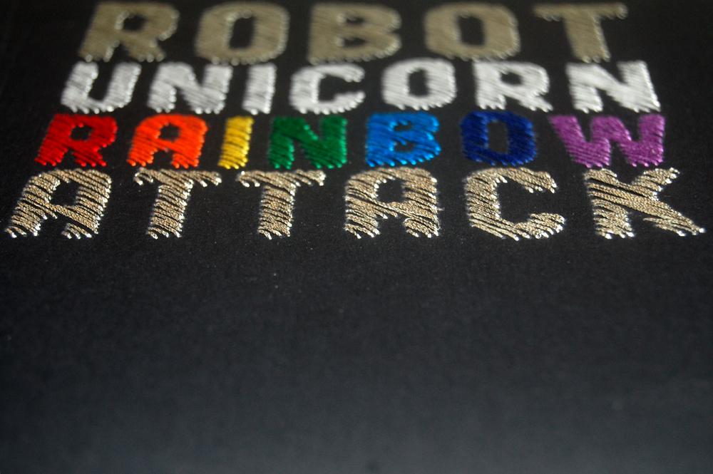Robot Unicorn Rainbow Attach by Spike Dennis