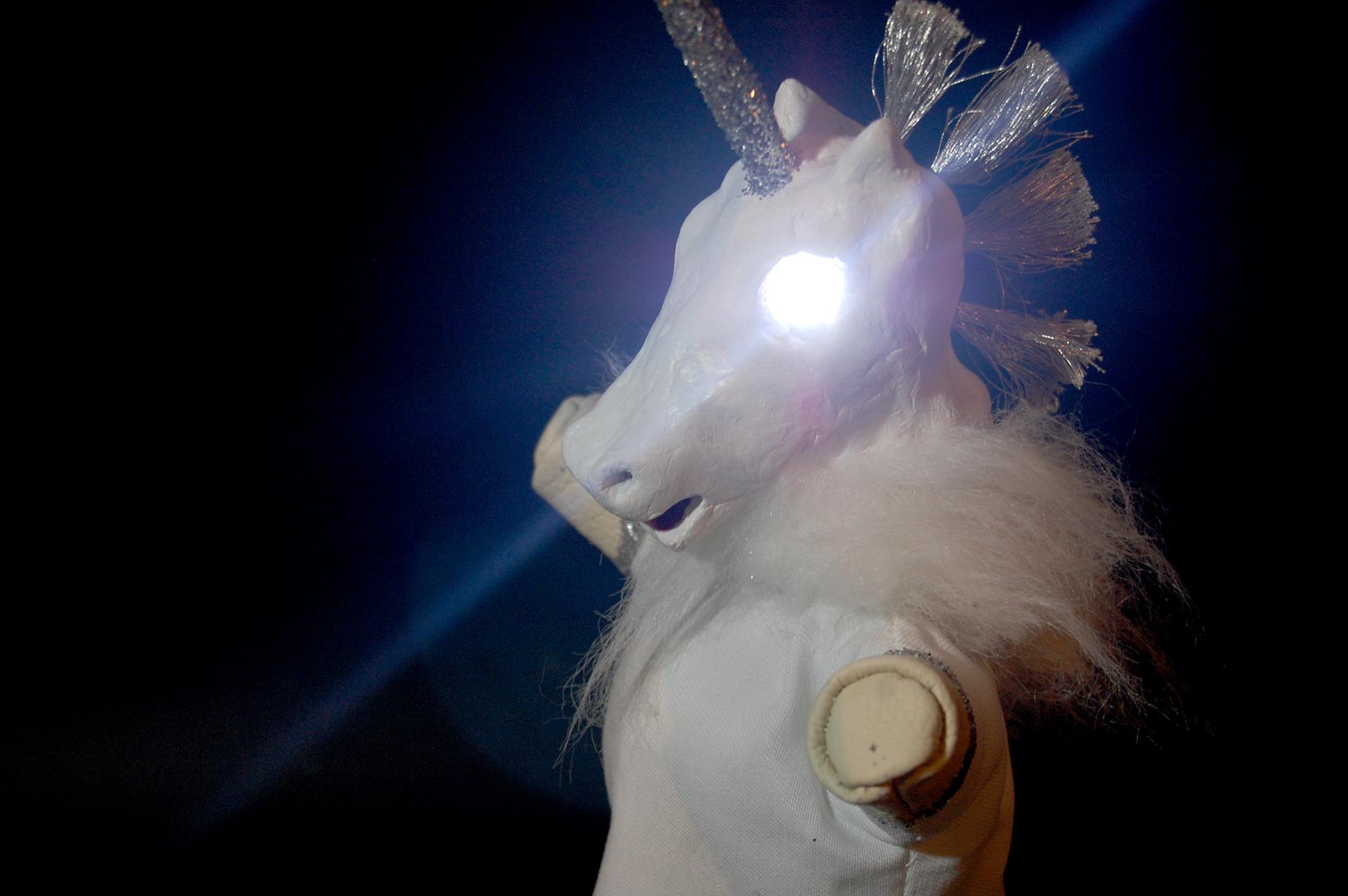 Unicorn Glove Puppet