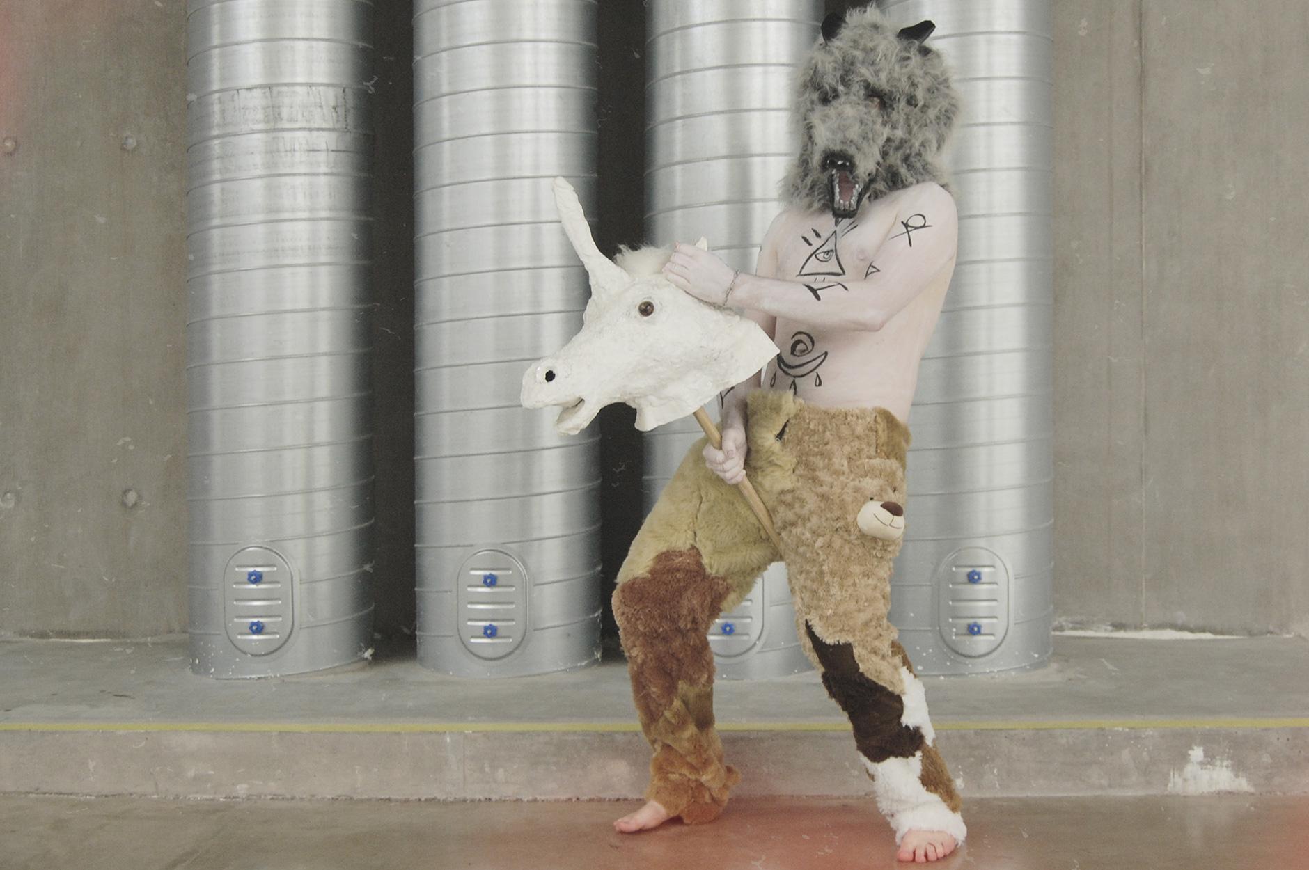 Farmer McPhallus Wild Man Unicorn Farmer